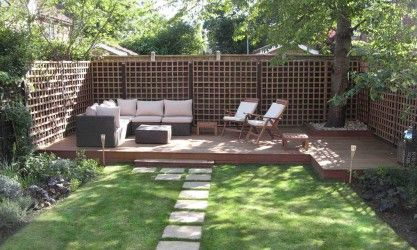 Hardscaping On a Budget | Home Design Ideas: Backyard Landscape Ideas 2816x2112 Small Backyard ...