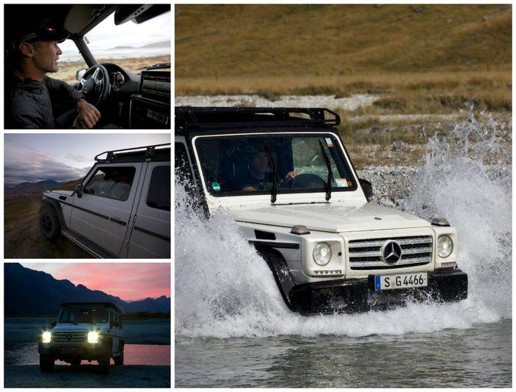 Vägar? Totalt överskattat. Mike Horn utforskar Nya Zeeland i sin Mercedes-Benz G-Klass. #pole2pole