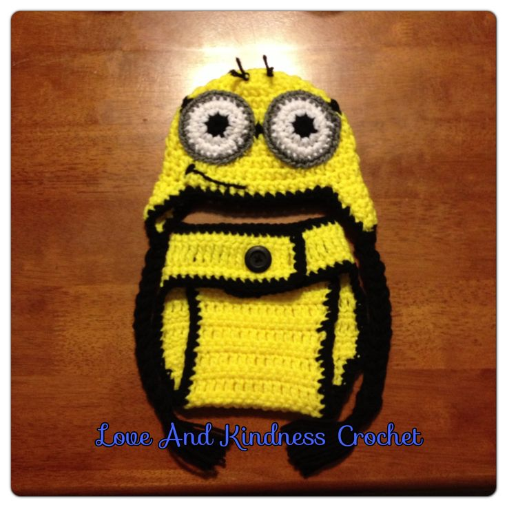 Despicable Me Minion Baby Set - can make up to 12mo - $35 shipped in the US