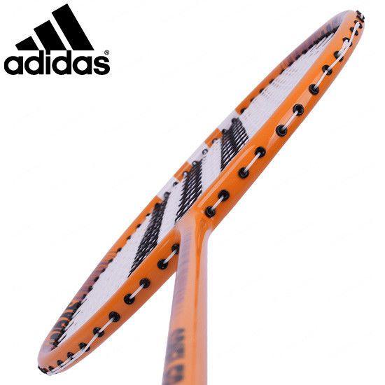 adidas Badminton Racket SPIELER E07 Light Orange Racquet String with Cover #YONEX