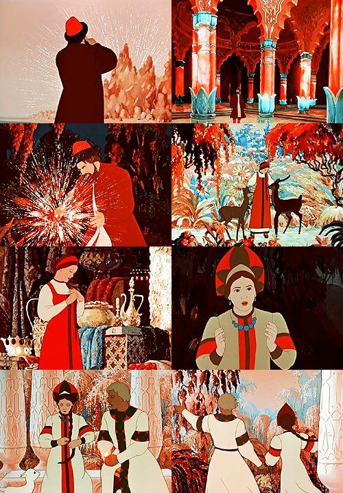 A list of favorite fairytale adaptations: Аленький цветочек(The Scarlet Flower),Soviet Union, 1952