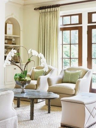 328 best images about staged living rooms on pinterest for Staging small living room