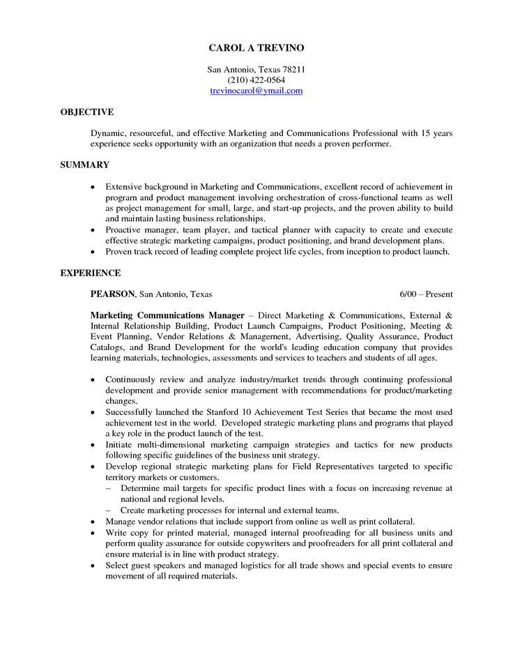 25+ unique Resume objective ideas on Pinterest Good objective - best resume objective statements