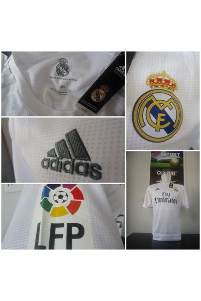 Jersey Real Madrid Home Official 2015/2016