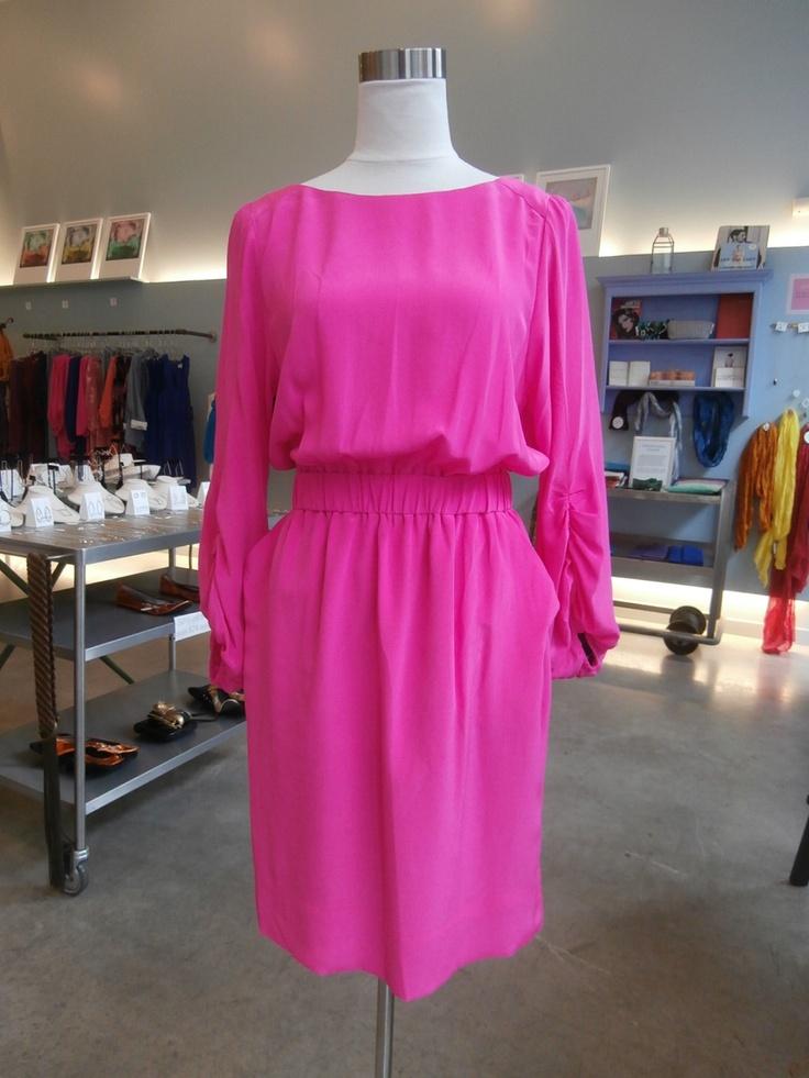 81 Poppies hot pink emilee dress $192