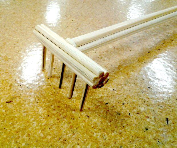 The best back scratcher ever!  (or a zen garden rake)