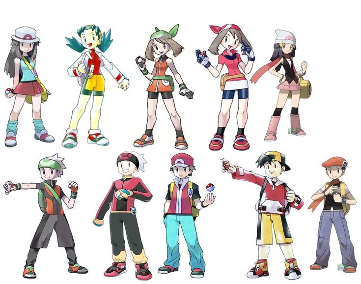 Pokemon Trainers Photo by silver445 | Photobucket