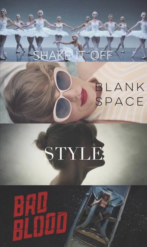 Which is your favorite?! I hate to sound like I'm only into what's newest, but Bad Blood is definitely my favorite!!