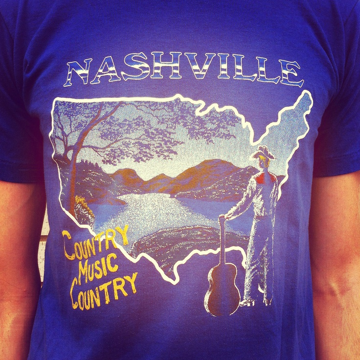 Vintage Nashville Music Country Shirt