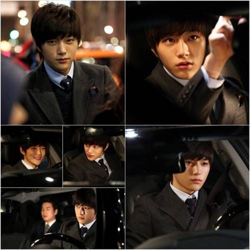 L is a charismatic chauffeur in his first still cuts for 'Cunning Single Lady' | allkpop