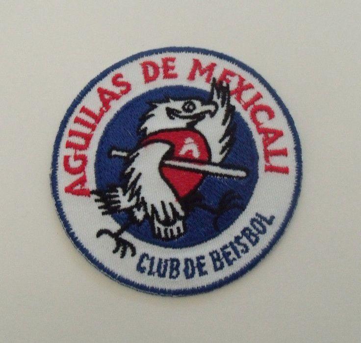 Aguilas De Mexicali Mexican Baseball Patches