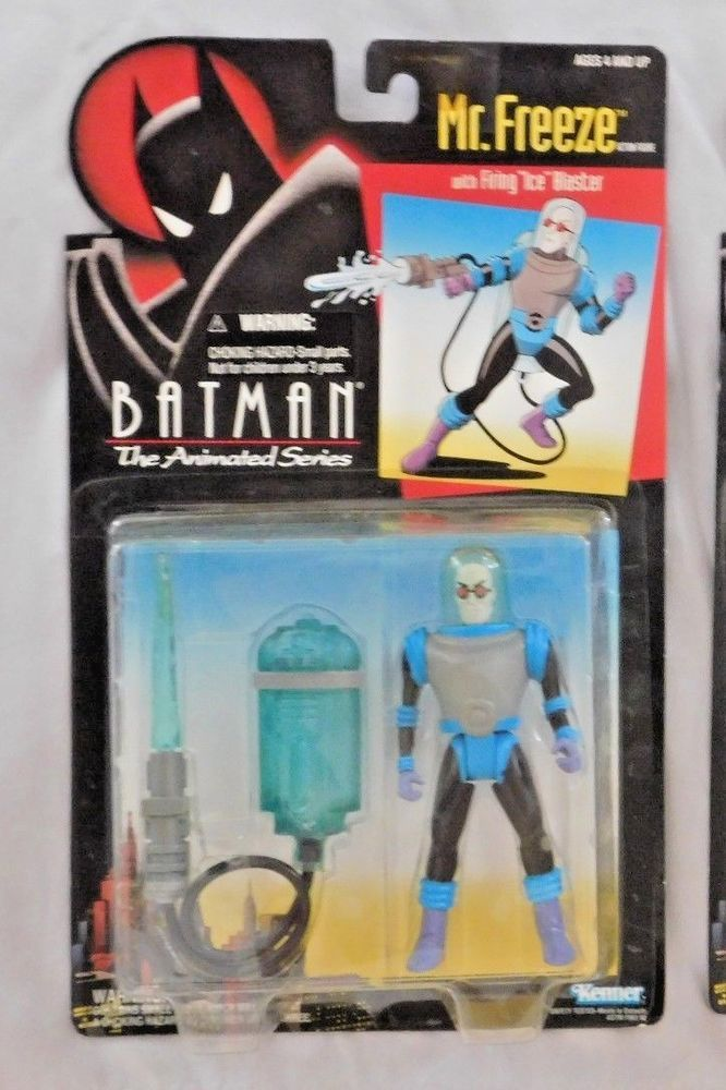 Batman The Animated Series Mr Freeze Action Figure Kenner 1993