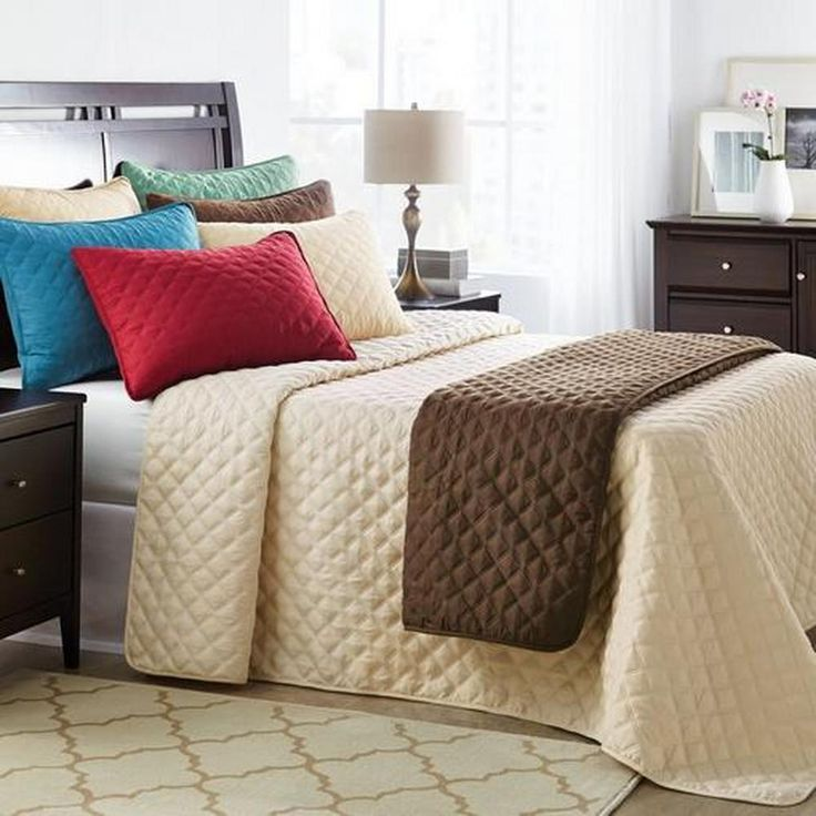 Solid Pinsonic Throw Style Bedspread For 59 99 Home