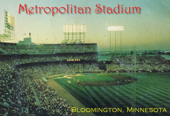 Metropolitan Stadium, Bloomington, Minnesota