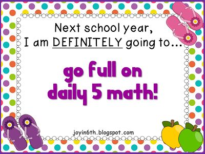 First Grade Garden: Search results for daily 5 math