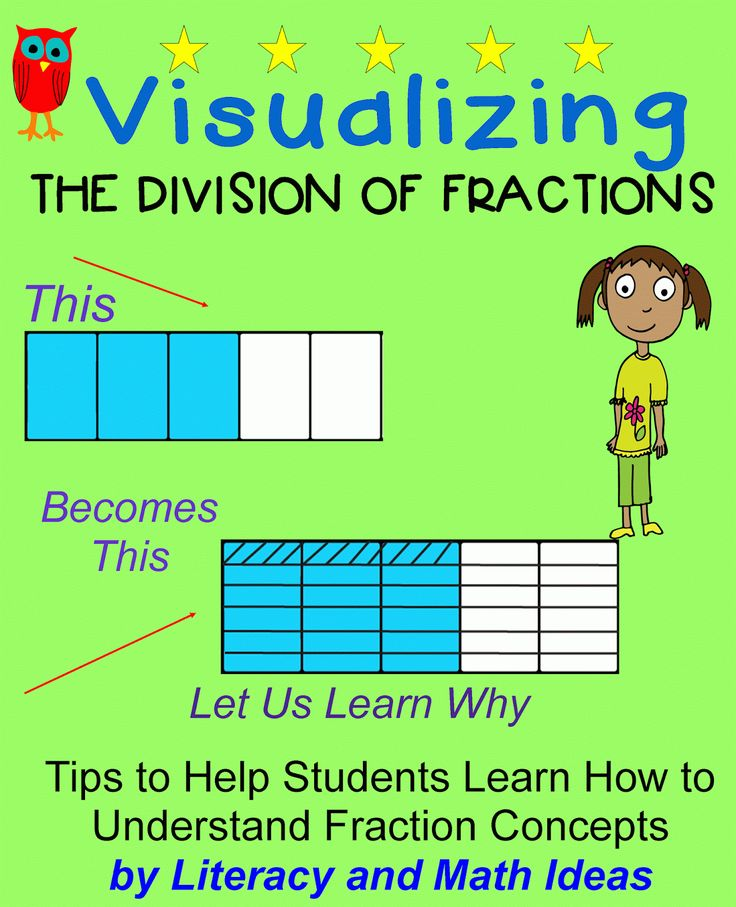 Literacy & Math Ideas: Dividing Fractions: Going Beyond Procedures and Learning for Deep Understanding