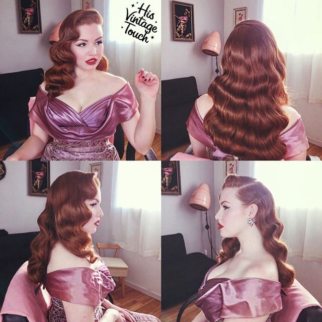 Pleasant 1000 Ideas About Pin Curl Updo On Pinterest Pin Curls Curling Hairstyles For Women Draintrainus