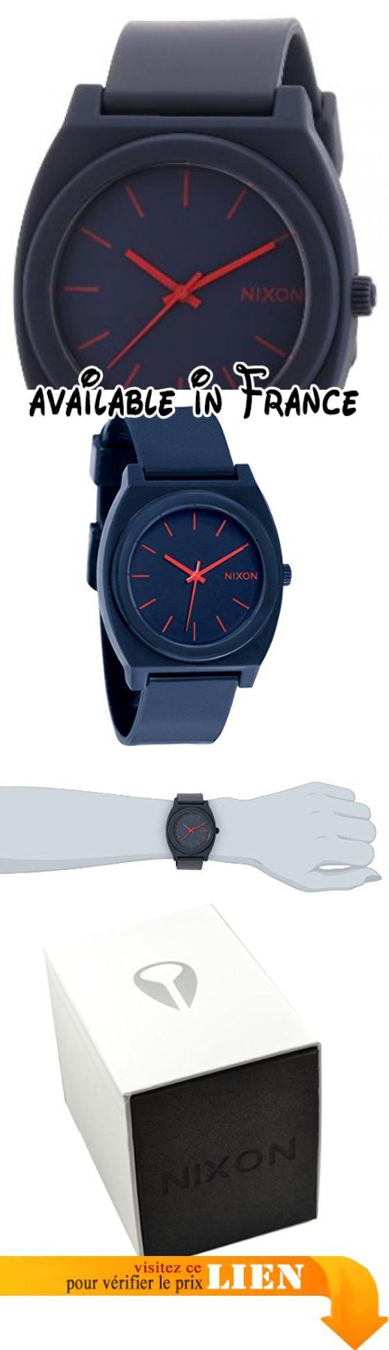 B0048FJ6TE : Nixon - A119692-00 - Montre Mixte - Quartz Analogique - Bracelet Plastique Bleu. Montre Mixte à mouvement Quartz - Bracelet en Plastique Bleu. Type d'affichage : Analogique. Type de verre : Minéral