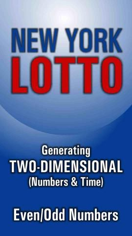 This app helps players to choose numbers with an algorithm, UNIQUE IN THE WORLD for New York Lottery draws. Generating two-dimensional and E...