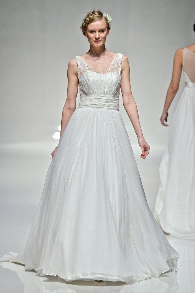 Robes de mariée taille empire tendance 2015 Madelline