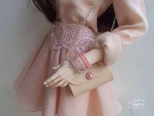 Vintage inspired accessories for Ball Jointed Dolls. Love After Love Collection by Contos. #bjd #balljointeddoll #doll #iplehousearia #shop #collection #vintage #accessories #hairaccessories