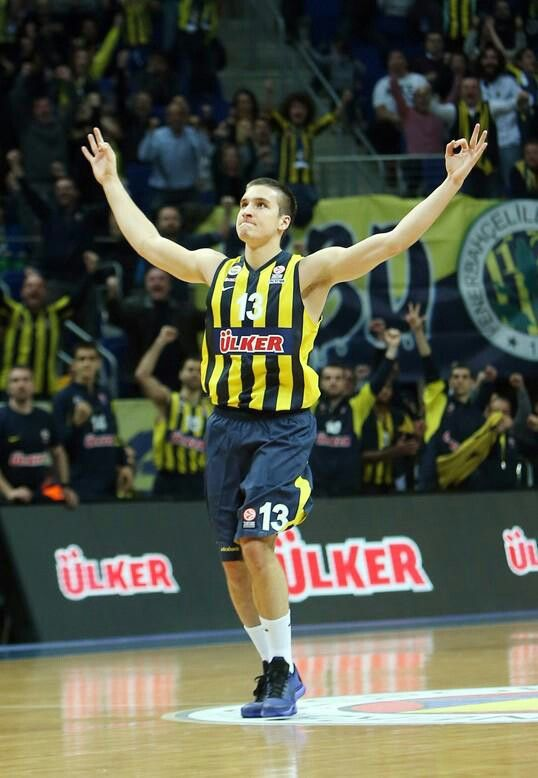 Bogdan Bogdanovic #FenerbahçeÜlker    #Euroleague