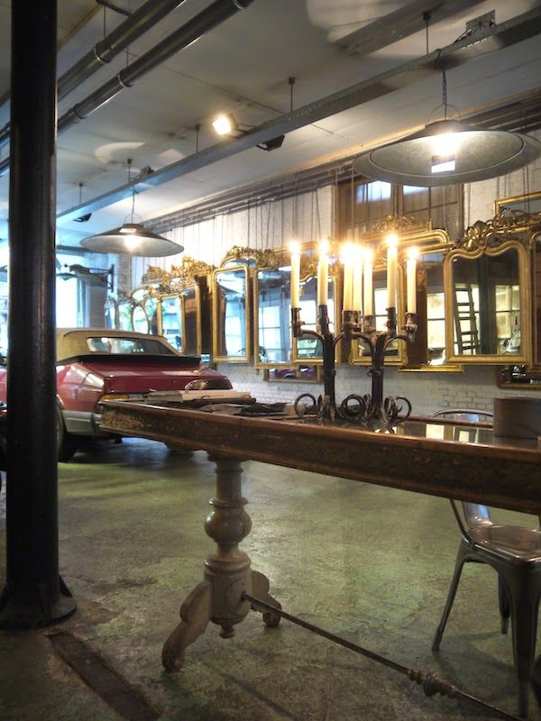 Anouk Beerents antique mirrors   Amsterdam
