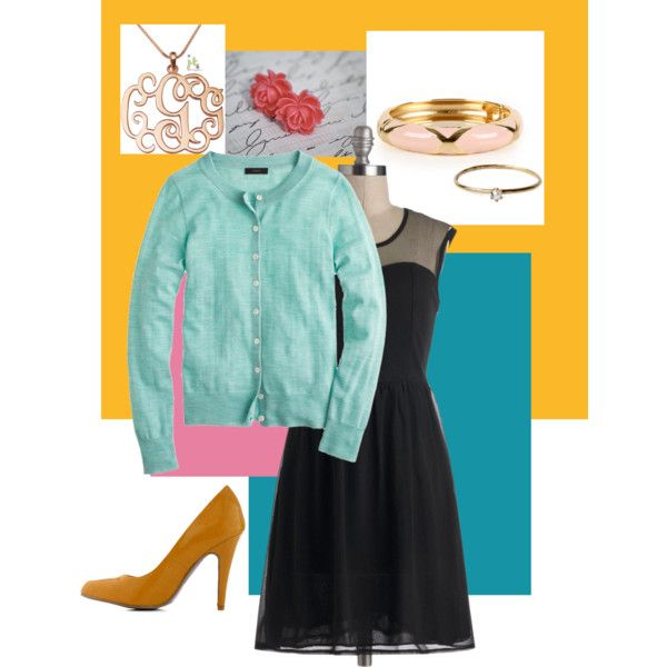 """""""Cute Spring Outfit for Work or a Date"""" by sharonosaurus on Polyvore"""