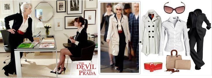 Miranda Priestly outfit The devil wears prada