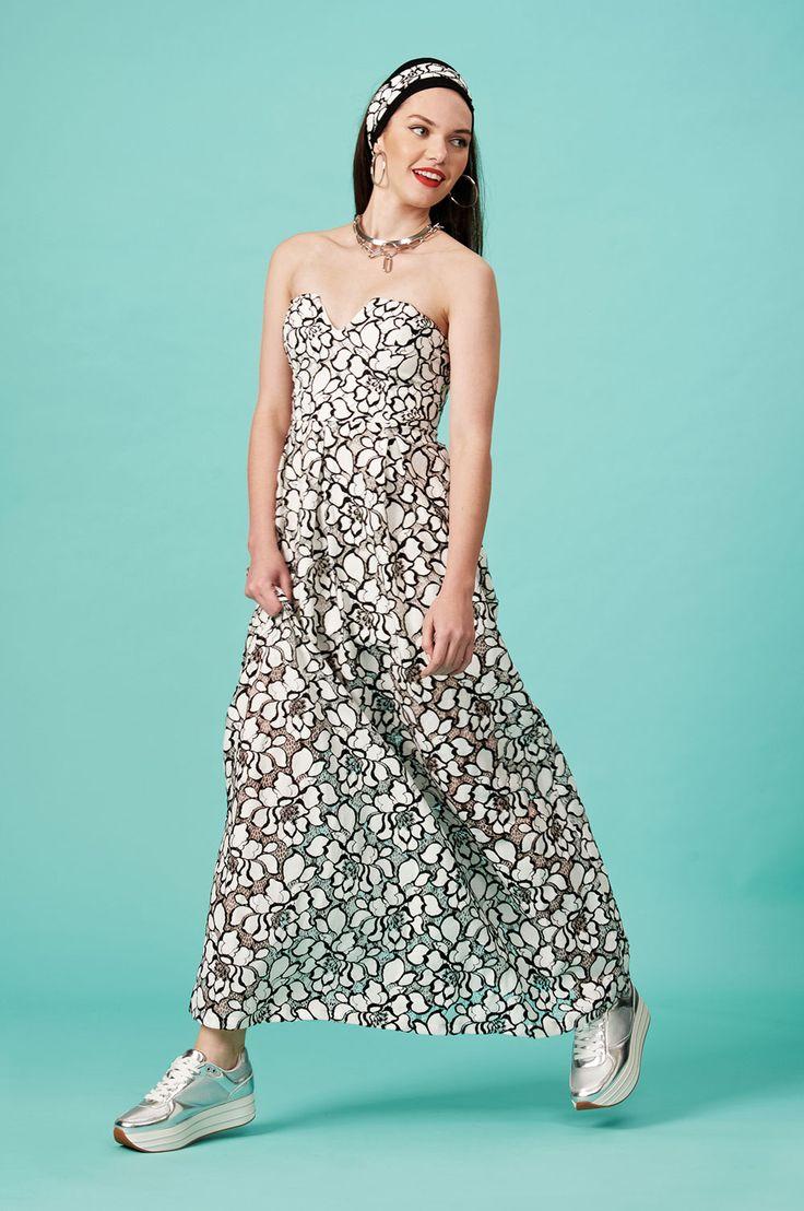 Forever Young : Φόρεμα μακρύ στράπλες (FY905)