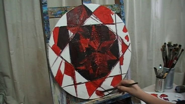 HOW TO PAINT A RUBY - live painting by Angel.Kourkoulou