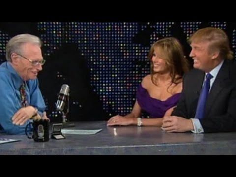 Donald and Melania Trump's interview as newlyweds (CNN Larry King Live) - YouTube  #DonaldTrumpTalkingDoll