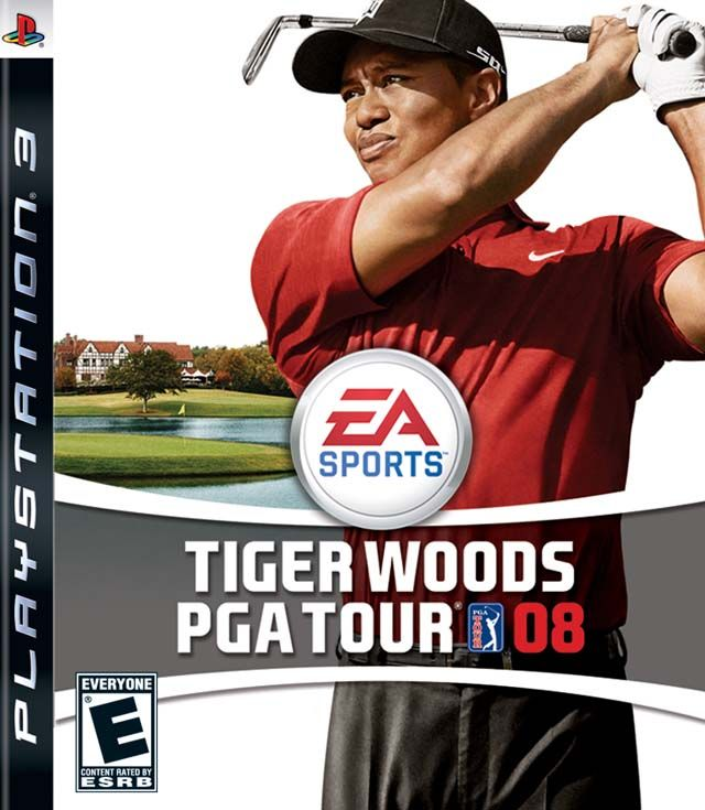 TIGER WOODS PGA TOUR 2008  -  Is the fourth-to-latest Tiger Woods golfing video game in the Tiger Woods PGA Tour series from Electronic Arts. It was released in North America on August 28, 2007 for multiple platforms. It was the last version of Tiger Woods PGA Tour to be offered for the PC.