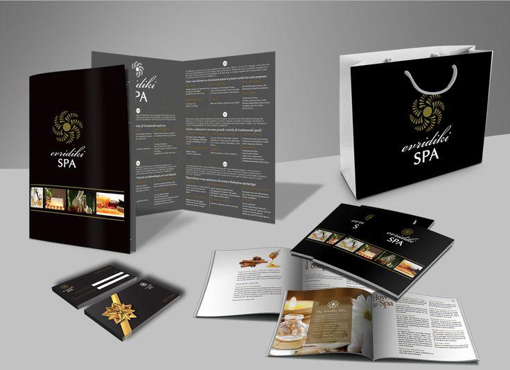 Σχεδιασμός και εκτύπωση του διαφημιστικού project της Evridiki Spa.