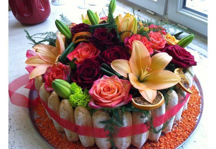 17 meilleures idées à propos de Gâteau Floral sur Pinterest ...