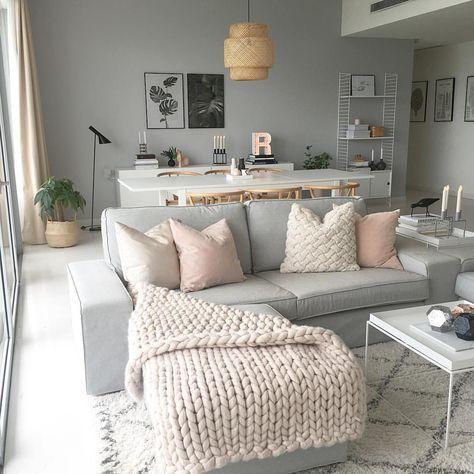 30 schöne Wohnzimmer Dekor und Design-Ideen – #beautiful #decor #design #ideas #living – Ece Nur