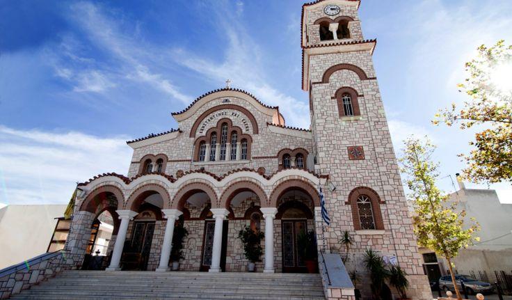 Αγίων Κωνσταντίνου και Ελένης Άνω Λιοσίων | Ιερά Μητρόπολη Ιλίου, Αχαρνών και Πετρουπόλεως