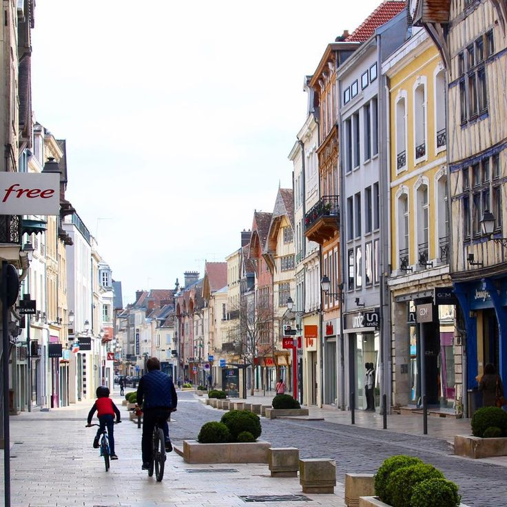 Making my way on foot around Troyes France, I find it quite quaint.