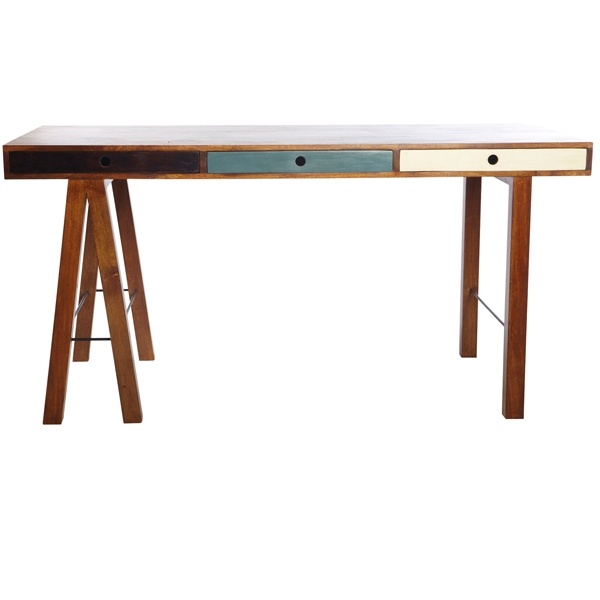 Gorgeous wooden desk by House Doctor at BODIE and FOU