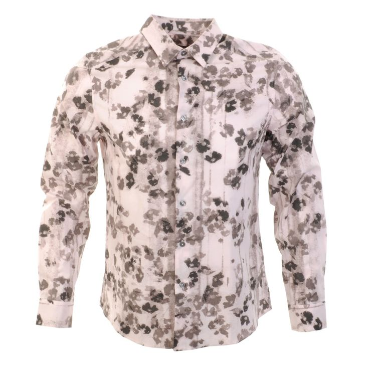 PS By Paul Smith Printed Shirt Pink