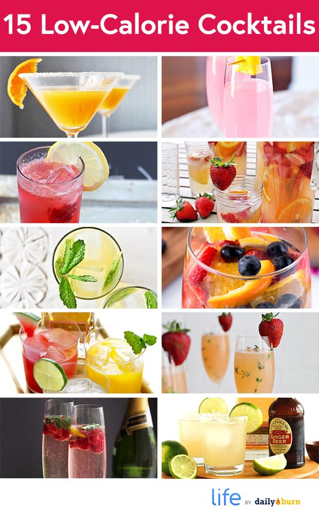 15 low calorie cocktails that are better than vodka soda for Cocktail 0 calorie