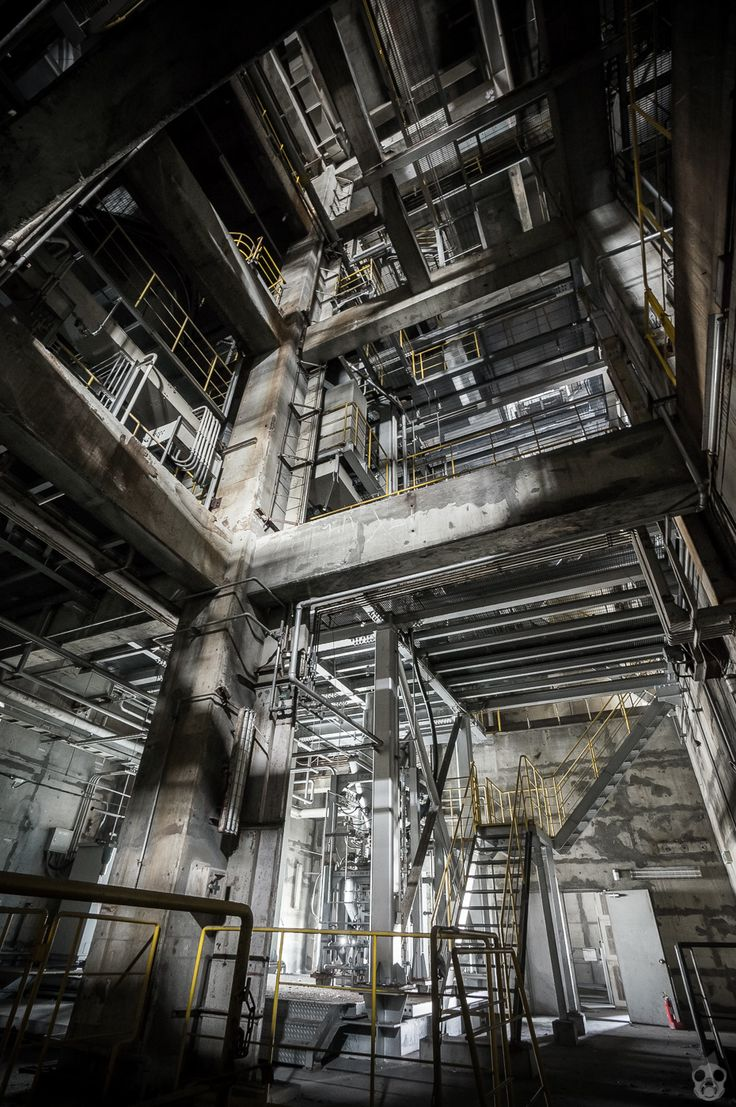 The Disused Huge Plant