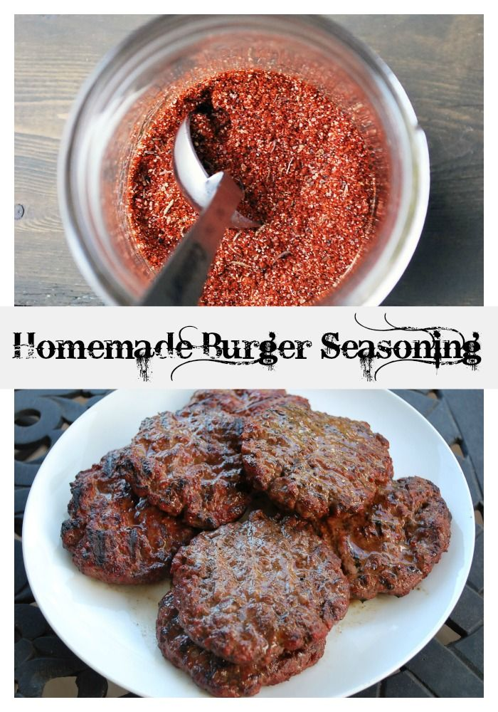 Simple Homemade Burger Seasoning for the next cookout!