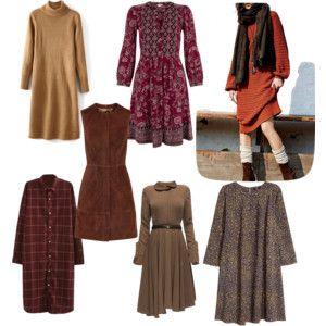 Платья Натуральный, естественный стиль