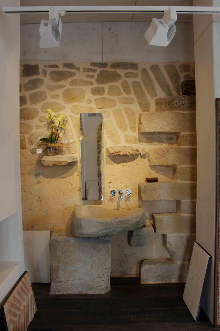 lavabo piedra
