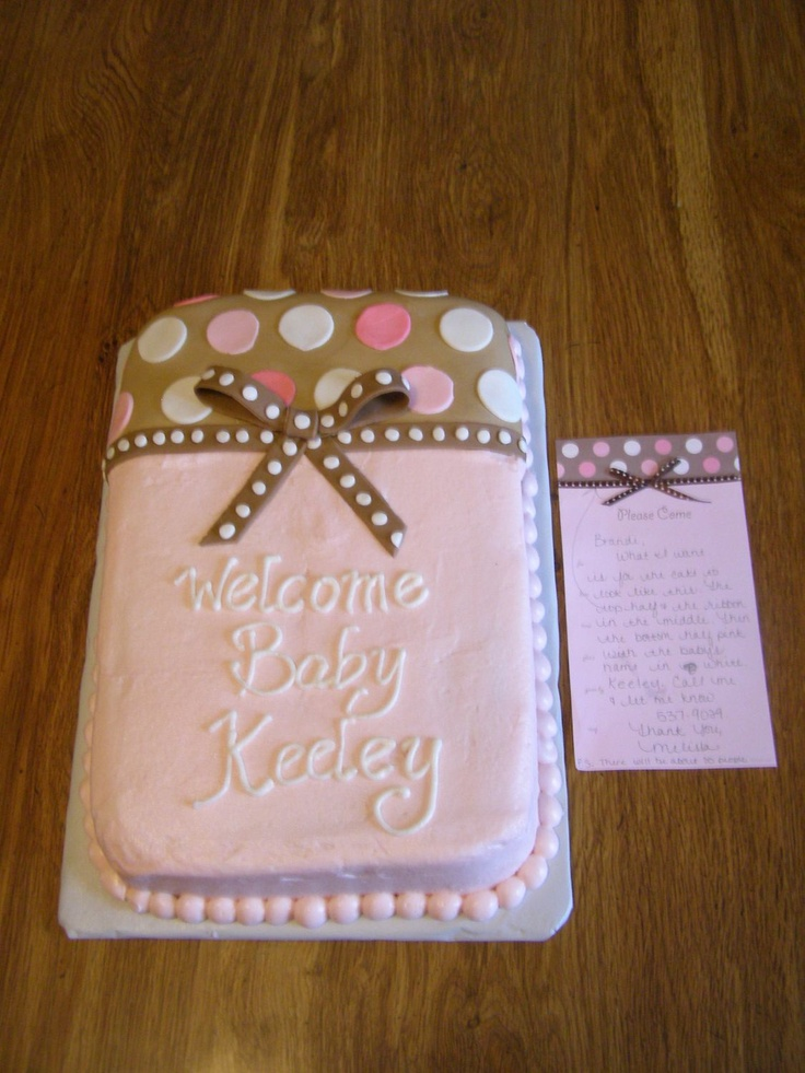 cakes cakes baby showers girl baby showers girl shower cake writing