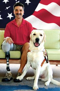 Veteran Assistance Dogs    While developing guide dogs is our top priority, there are times when a dog is not suited for a guiding career. Our certified trainers select highly confident, calming, and extremely well behaved dogs for this career change as a Veteran Assistance dog.
