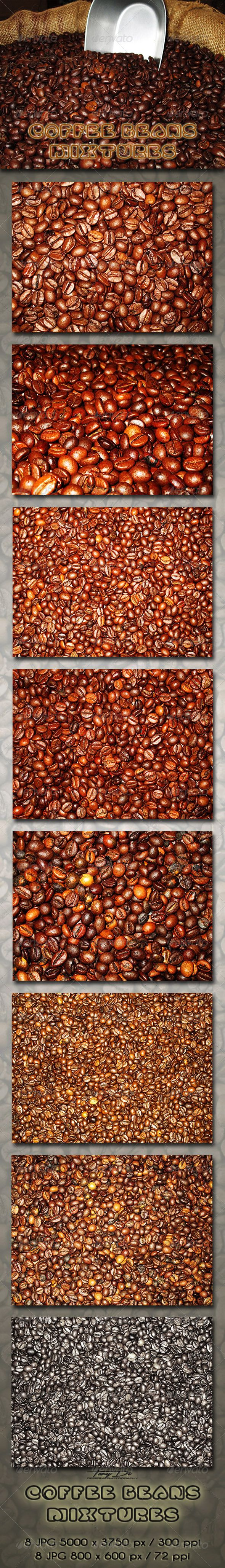 Coffee Beans Mixtures - $3