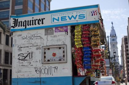 The Philadelphia Inquirer won Pulitzer Prize for Public Service 2012