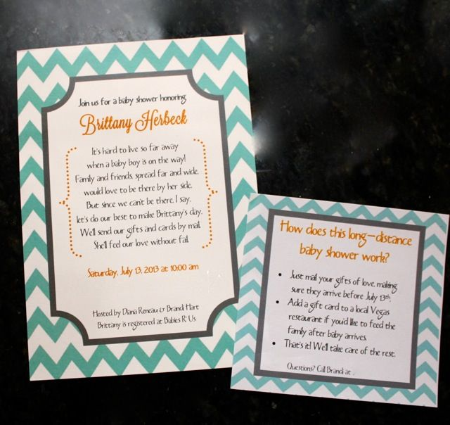 Long Distance Baby Shower Invites Sew In Love Baby 2 At